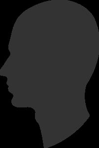 201x299 Silhouette Heads Clipart