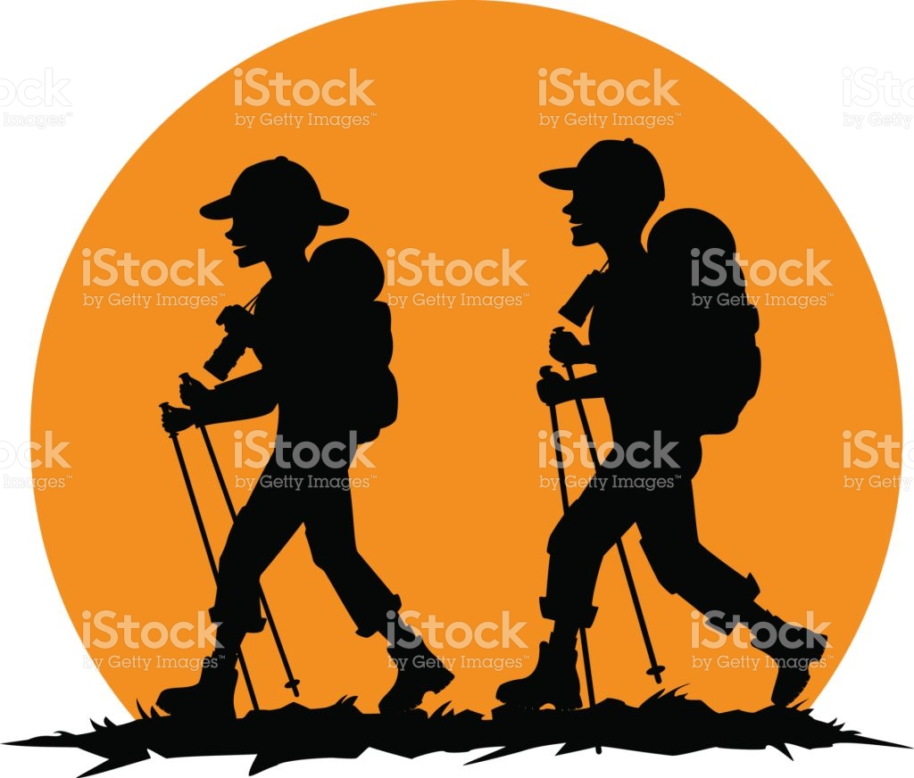 1024x872 Couple Clipart Hiker Many Interesting Cliparts