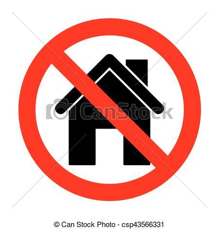 450x470 No Home Silhouette Illustration. Vectors