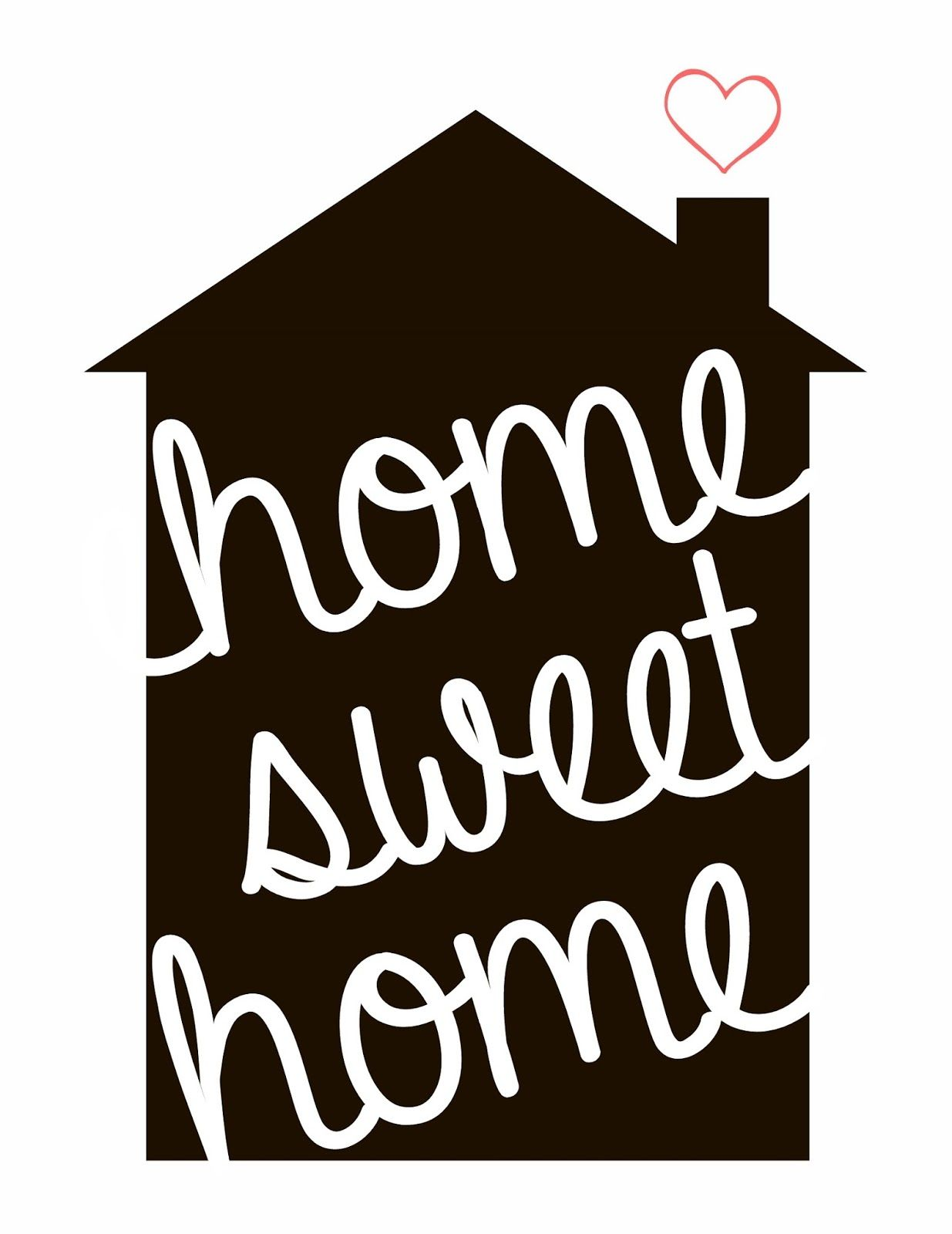 1235x1600 Silhouette Home Sweet Home