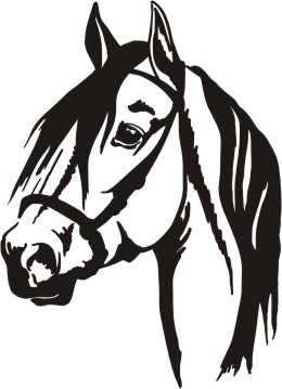 260x359 Horse Head Clipart Silhouette Collection