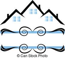 218x194 Houses Silhouette Logo Houses Logo Design Vectors