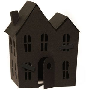 300x300 Silhouette Design Store 3d Haunted House Halloween