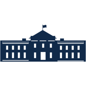 300x300 White House Clipart Silhouette