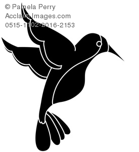 275x300 Hummingbird Silhouette Clipart Amp Stock Photography Acclaim Images