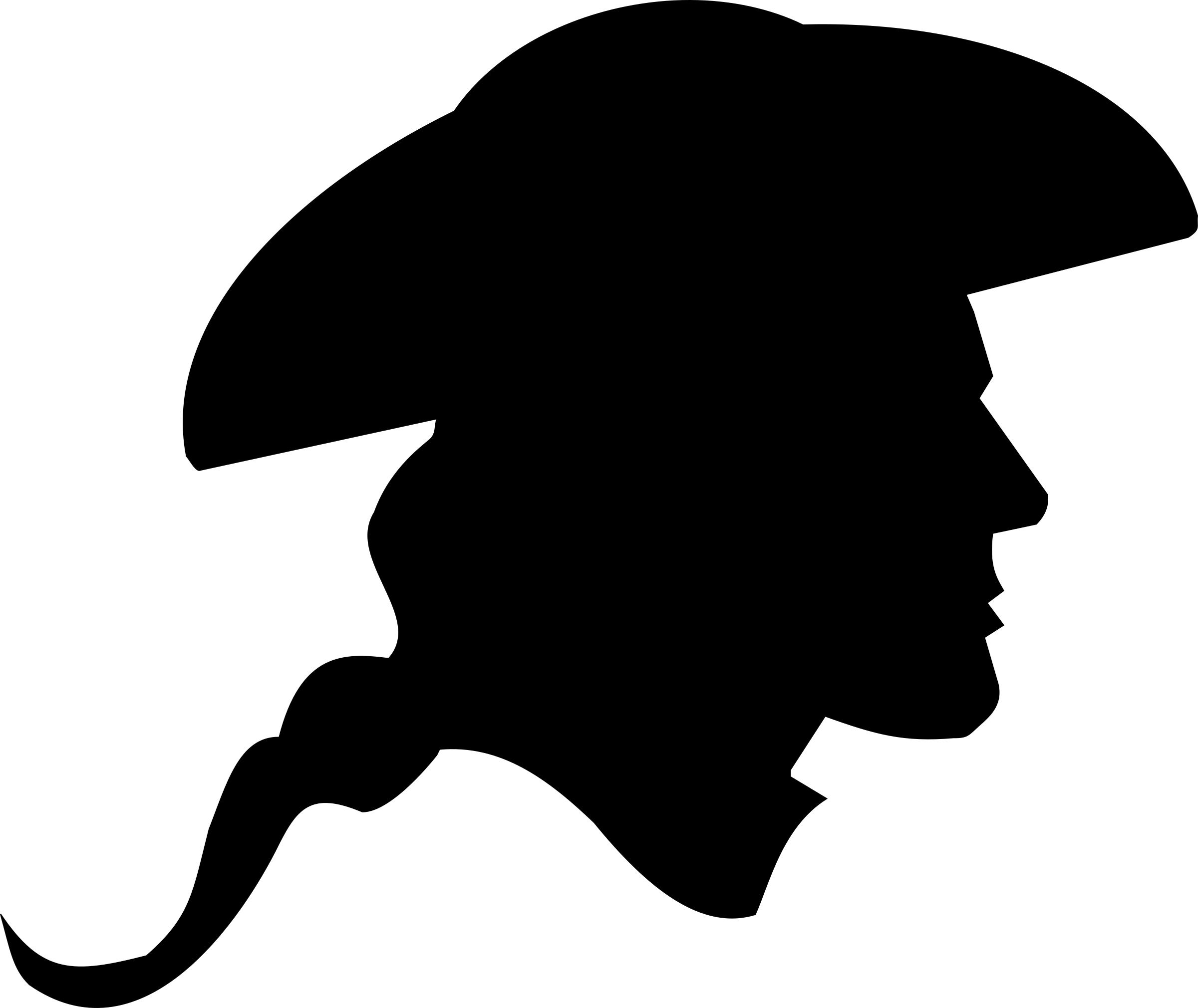 2400x2020 Us Revolutionary War Soldier Silhouette Icons Png