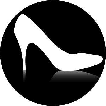 350x350 Female Silhouette Shopping Icon Pack