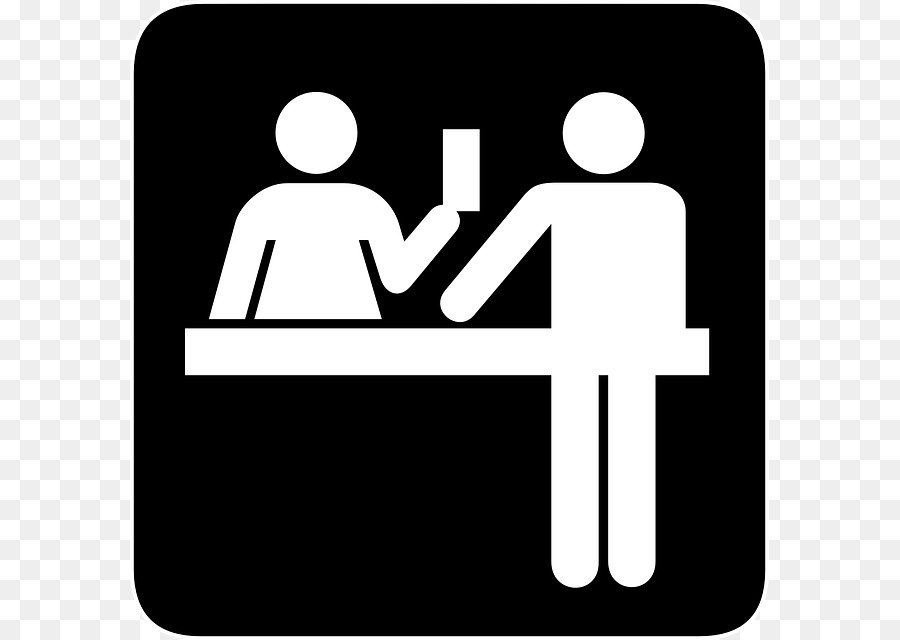 900x640 Desk Front Office Receptionist Computer Icons Clip Art