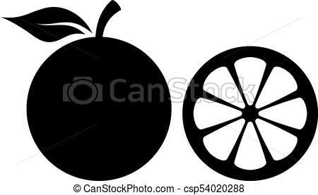 450x277 Orange Silhouette Vector Icons Set Vector