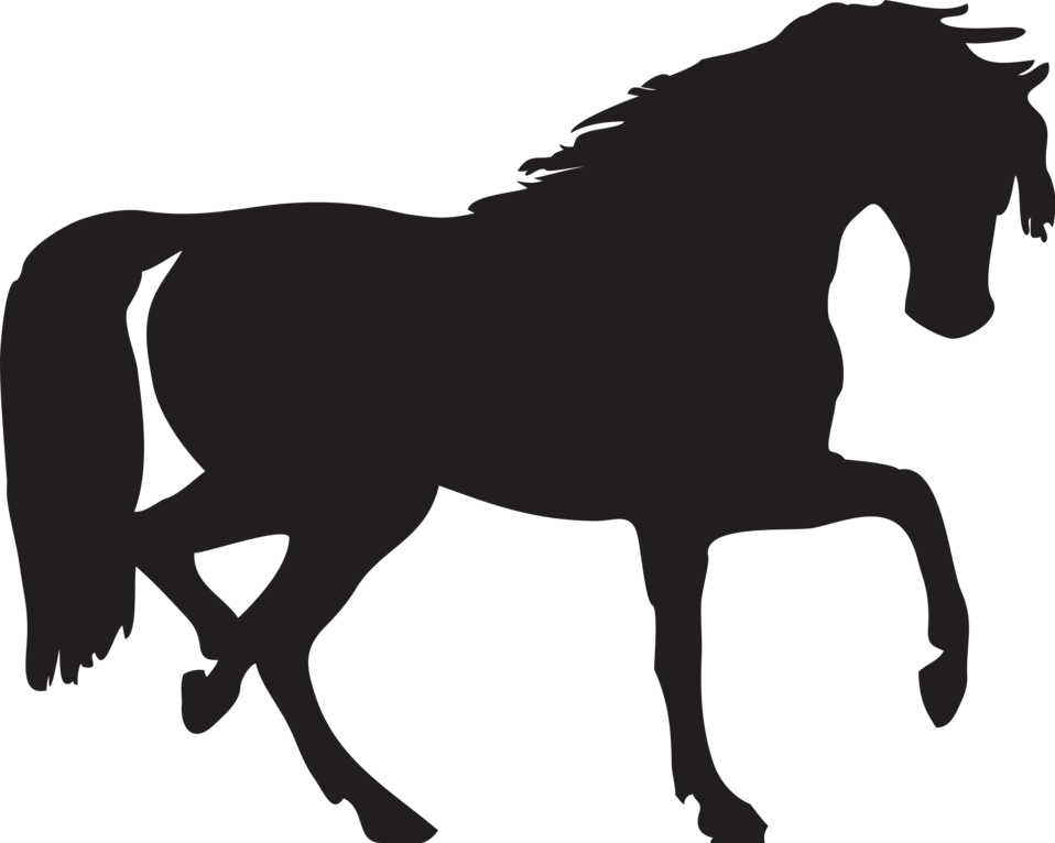 958x766 Horse Free Stock Photo Illustration Of A Horse Silhouette