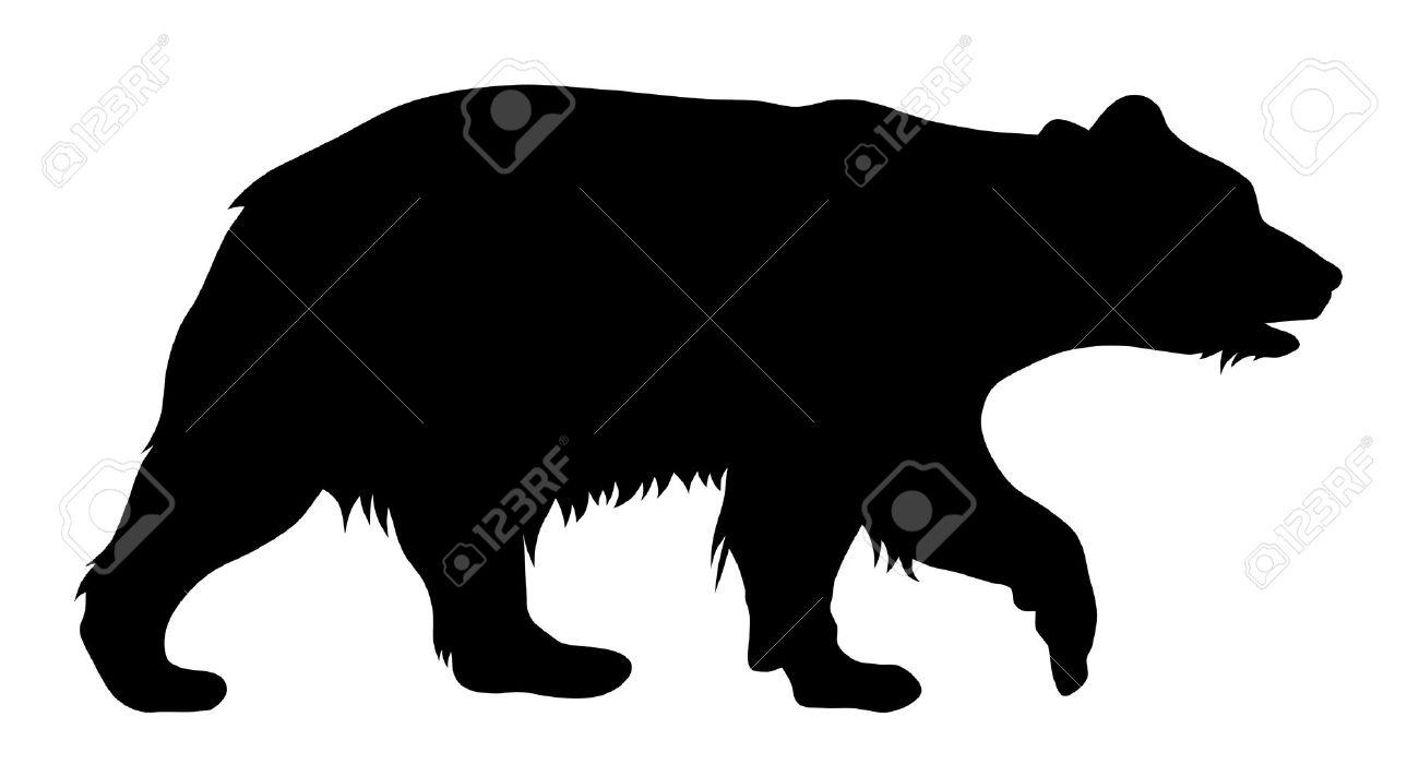 1300x711 Bear Silhouette