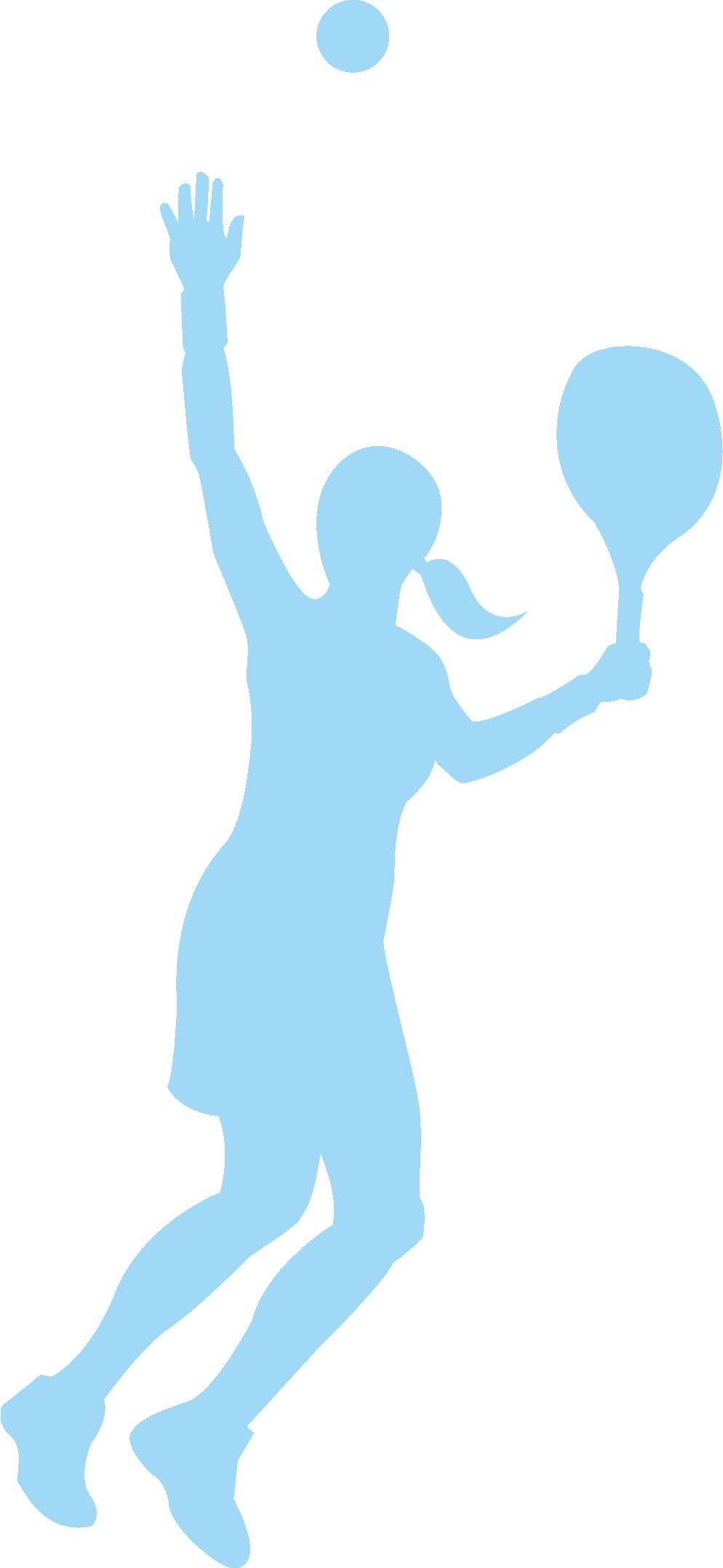 994x2154 Tennis Girl Adobe Illustrator Clip Art