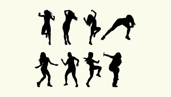 600x340 Dancer Silhouettes