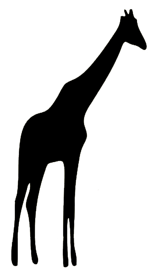 520x945 Animal Silhouette Clip On Corel Draw Animals Design Free