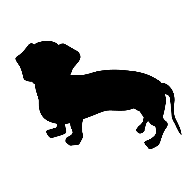 640x640 Dachshund Animal Silhouette Free Illustrations