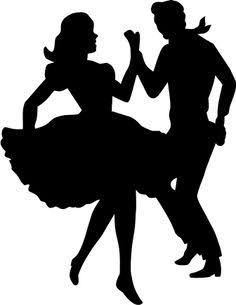 Silhouette Images Of Dancers