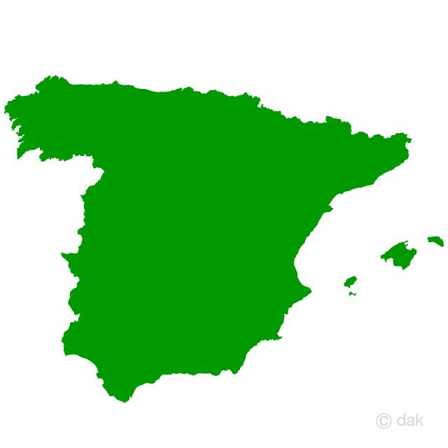 640x640 Free Spanish Map Silhouette Cartoon Amp Clipart