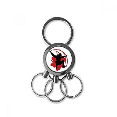 395x395 Bushido Samurai Sakura Silhouette Japan Asia Metal Key
