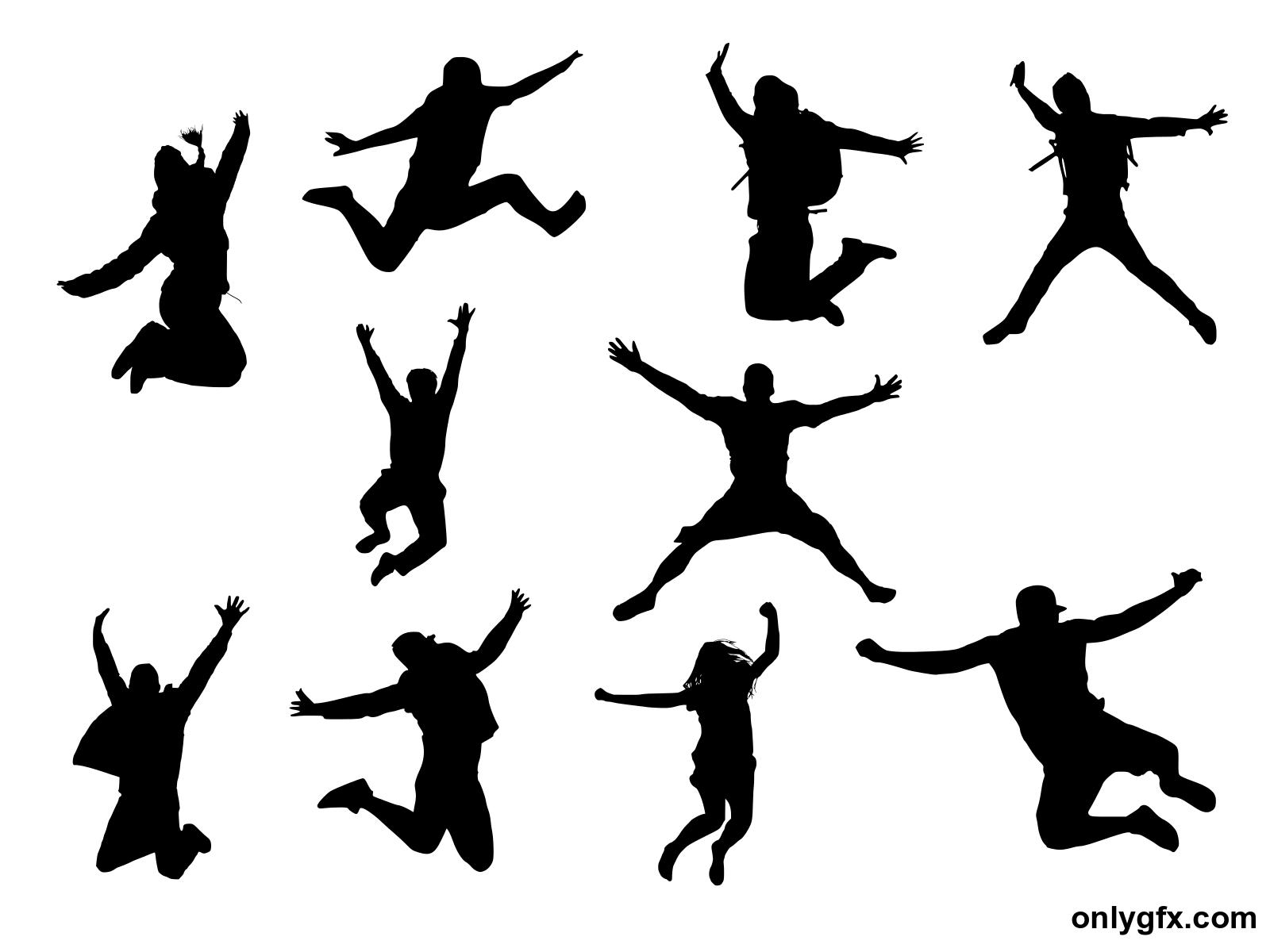 Silhouette Jump