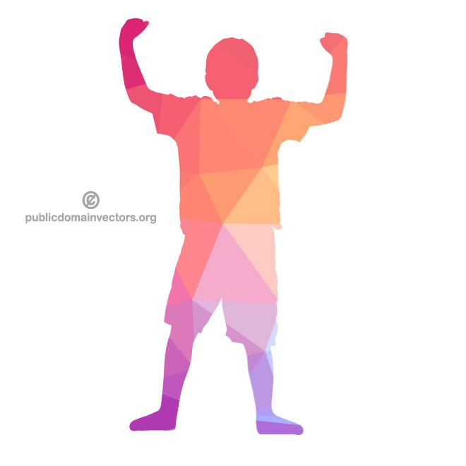 660x660 Silhouette Of A Kid