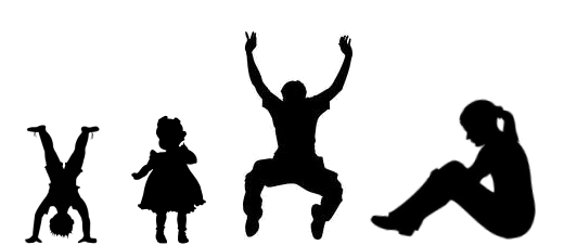 532x226 Child Praying Silhouette Clipart