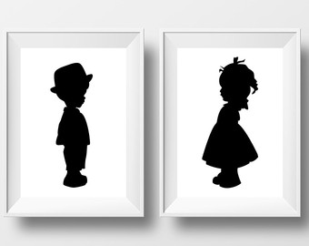 340x270 Child Silhouette Etsy