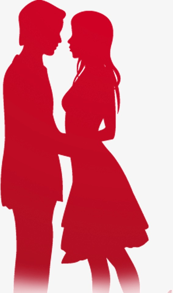567x958 Couple Kissing Silhouette, Lovers, Kiss, Sketch Png Image