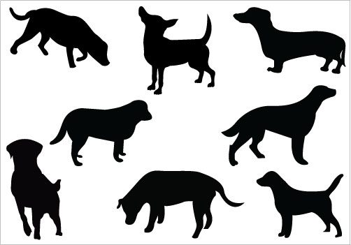 502x351 Free Lab Silhouette, Hanslodge Clip Art Collection
