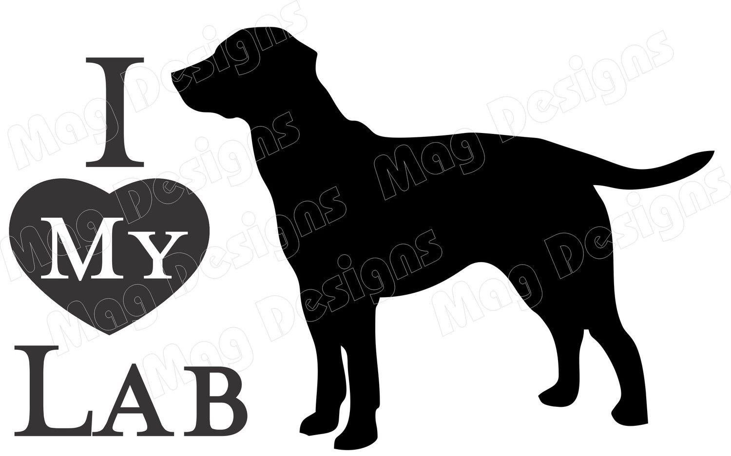 1500x936 Paintings With Black Labs In Them Golden Lab Silhouette