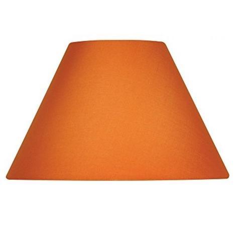480x480 Orange Lamp Shades Satsuma Tapered Drum 2 Better Lamps 5 Lite