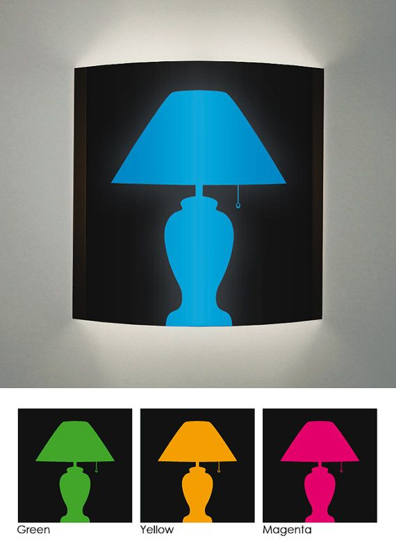 570x795 Wall Sconce With Print