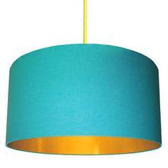 236x236 Dandelion Clocks Silhouette Lampshade In Tangerine