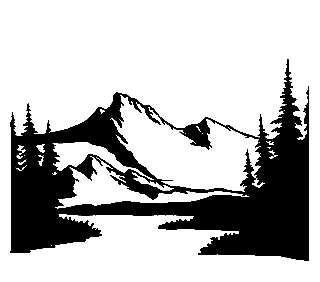 320x282 118452336 Mountain 13 Scenery Decal Rv Camper Graphic Landscape