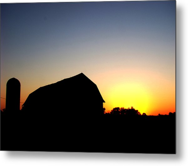 600x531 Barn Silhouette Photograph By Todd Zabel