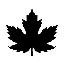 263x262 Free Svg Pdf Png Jpg Eps Maple Leaf Silhouette Writing On
