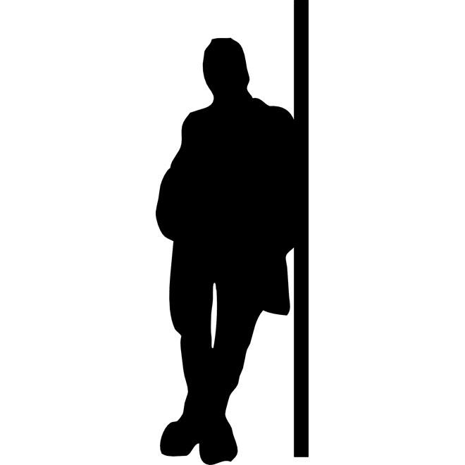 660x660 Man Standing