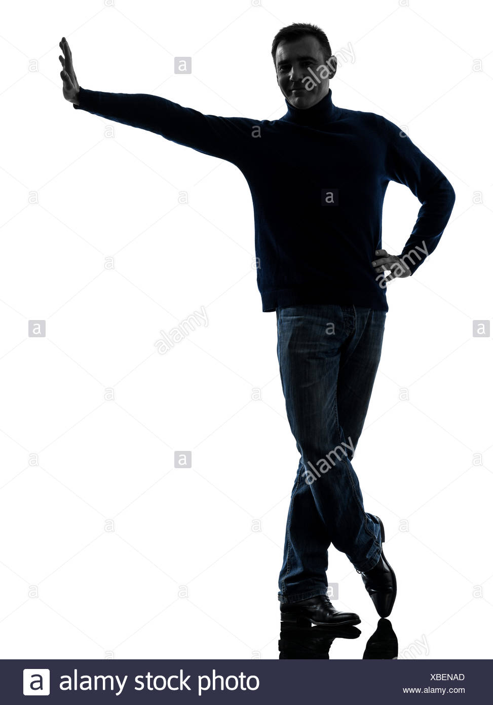 973x1390 Silhouette Man Leaning Against Wall Stock Photos Amp Silhouette Man