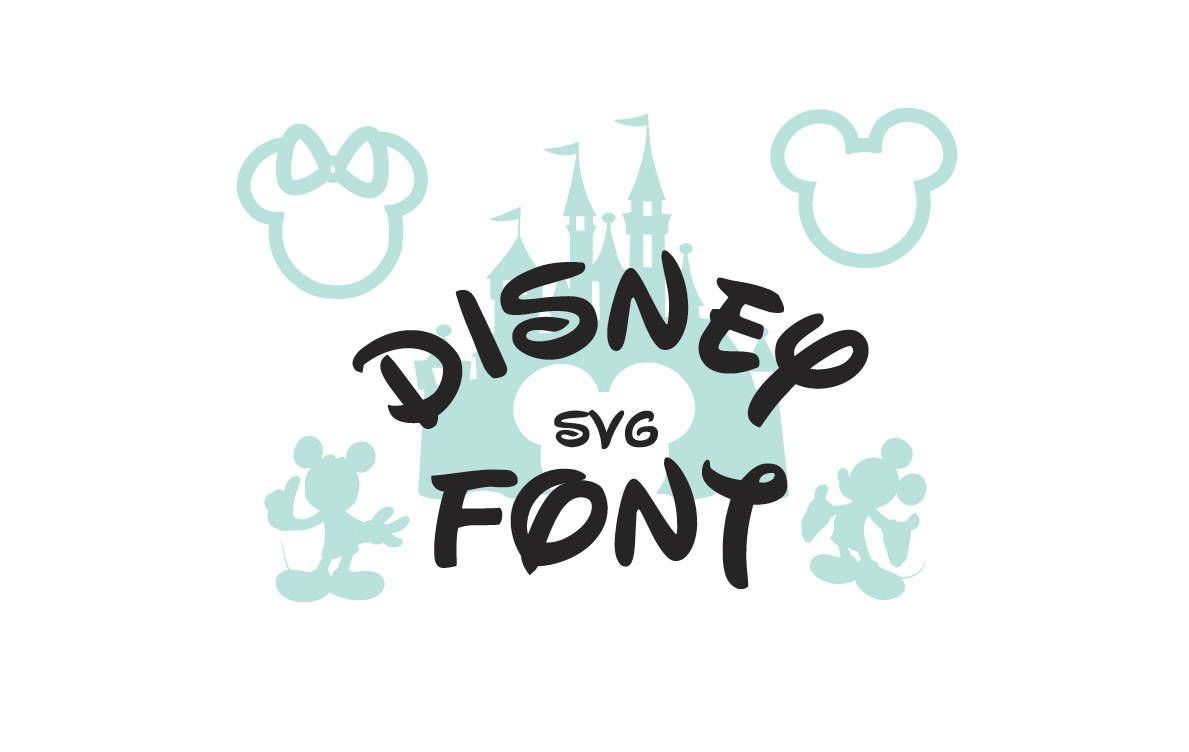 1189x752 Disney Font Svg Collection Disney Alphabet Dxf Disney Clipart Svg