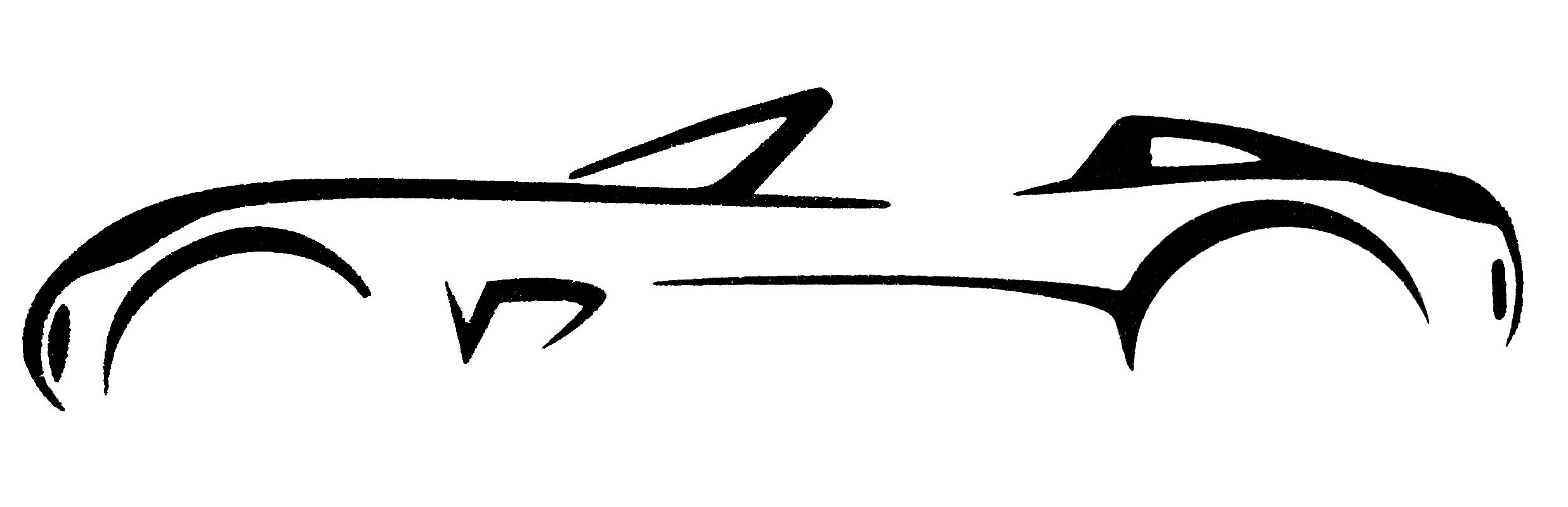 2472x800 Depositphotos Sport Car Silhouette Logo Clip Art