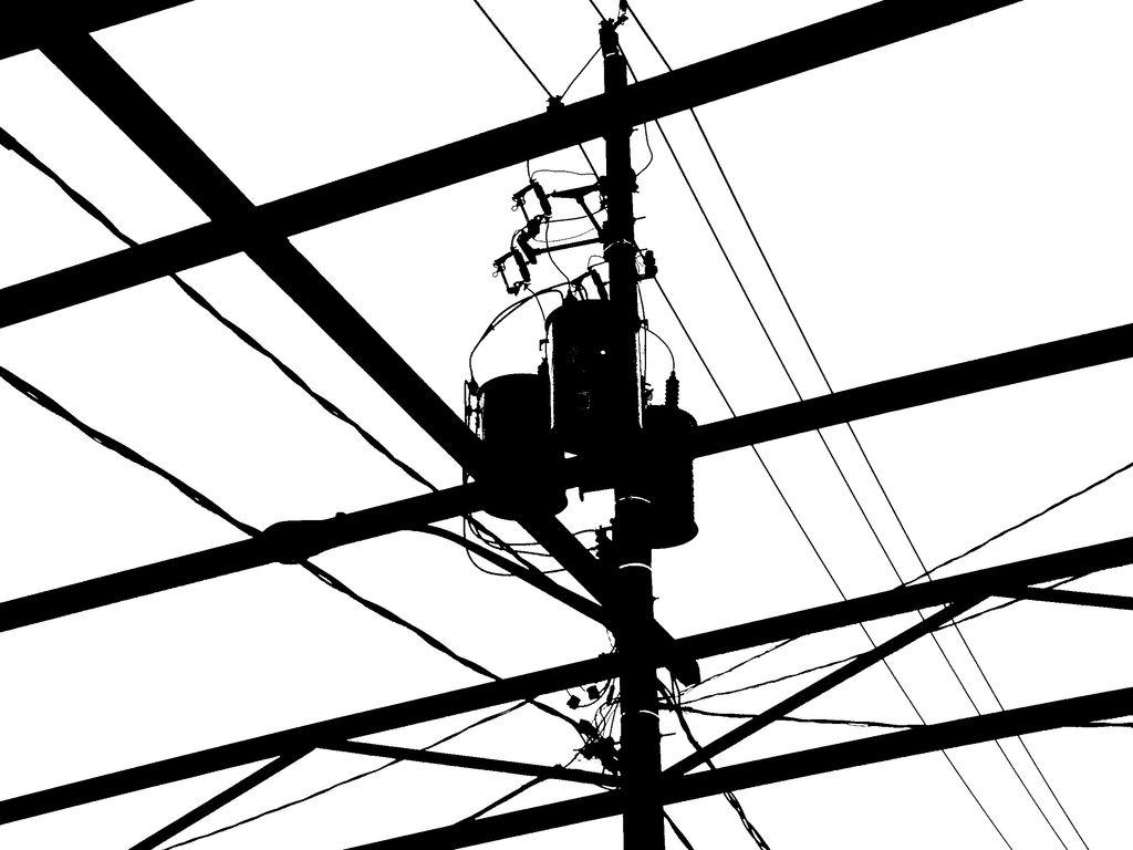 1024x768 Silhouette Kensington Power Lines 2 Trevor Schwellnus