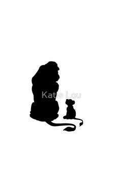 236x368 Dxf Svg File Lion King Silhouette Rafiki Mufasa Cub Ed Fun Svg