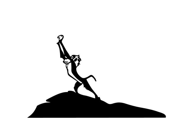 247b5e4c41581 Silhouette Lion King at GetDrawings.com | Free for personal use ...
