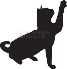 236x243 Catty Silhouette Art Crafthubs My Stuff