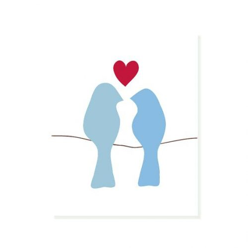 Silhouette Love Birds at GetDrawings.com | Free for personal use ...
