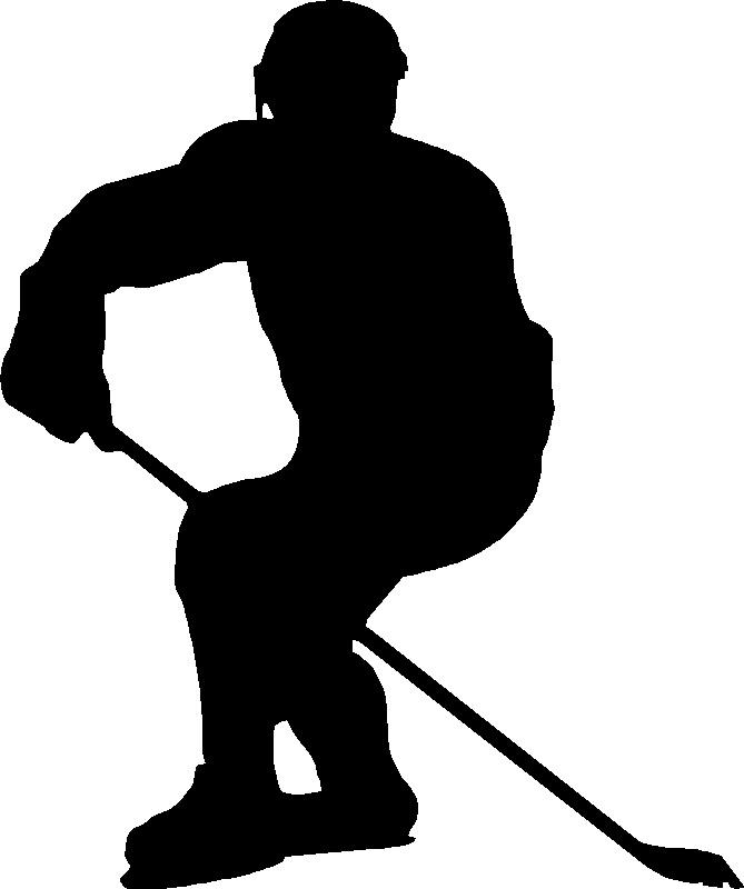 669x800 Hockey Skate Template Free Printable