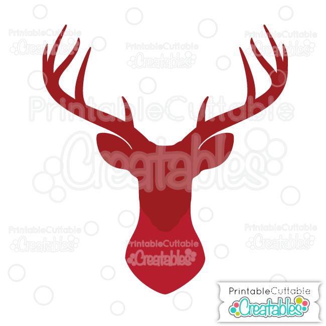 650x650 Free Svg Deer Head Silhouette Free Svg File Free Deer