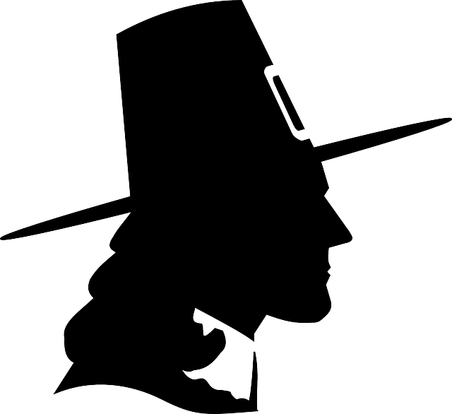 640x586 Pilgrim, Puritan, Thanksgiving, Hat, Man, Male, Head