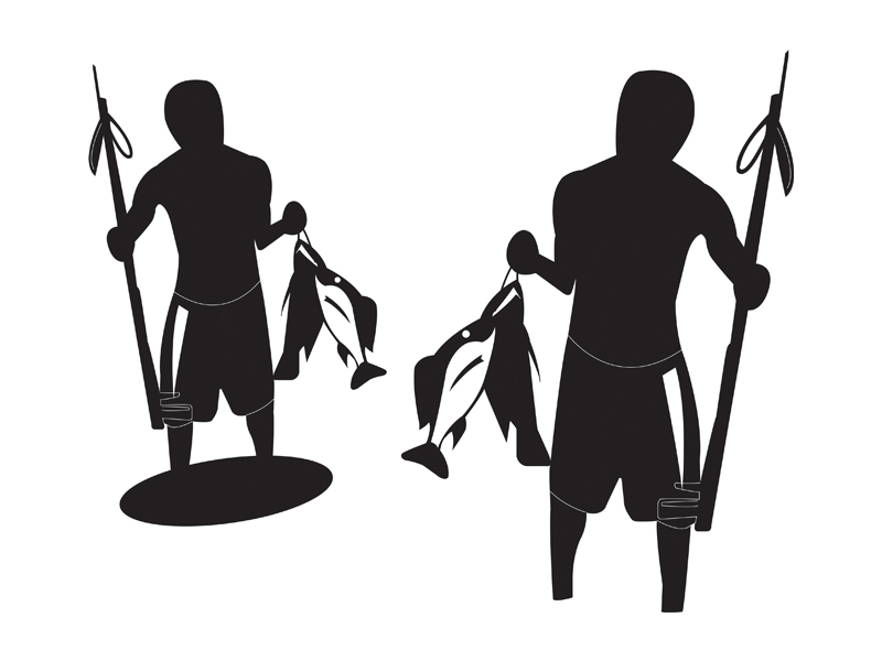 800x600 Man Fishing Silhouette Clipart Library