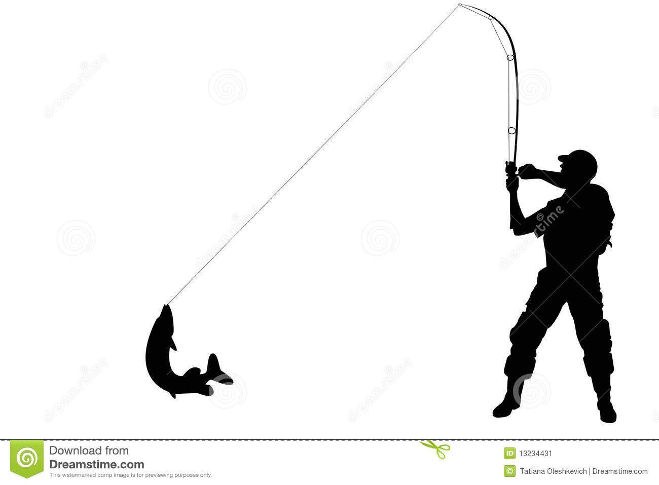1300x957 Fishing Silhouettes