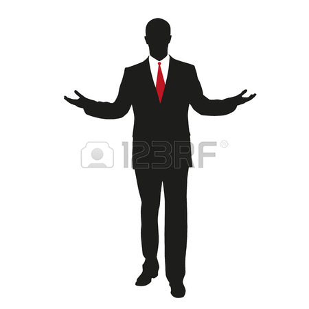 450x450 Man In Suit Silhouette